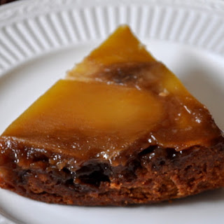 Mango Pineapple Upside-Down Cake