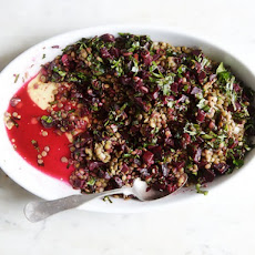 Cook the Book: Lentils with Roasted Beets