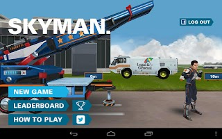 Screenshot of Skyman