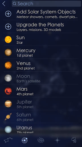 Star Walk 2 - Night Sky Guide - screenshot