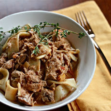 Slow Cooker Pork Paprikash