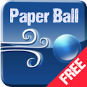Paper Ball (Free): Roll n Jump icon