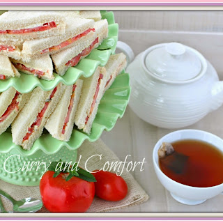 Tomato Tea Sandwiches (Throwback Thursday)