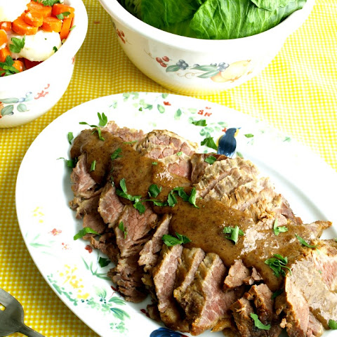 Crock Pot Braised Corned Beef