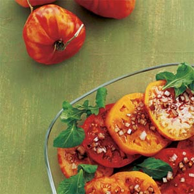 Tomatoes with Balsamic Vinaigrette