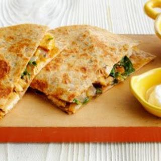 Chicken Spinach And Mushroom Quesadillas Recipes