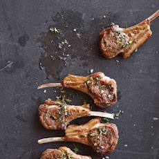 Panfried Lamb Chops with Lemon-Mint Gremolata