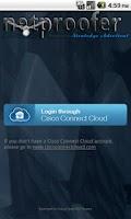 Screenshot of netproofer