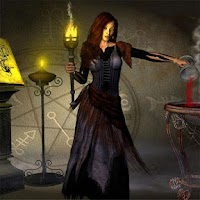 Screenshot of Gothic Girls Jigsaw Puzzles