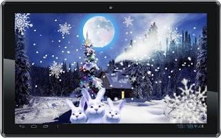 Screenshot of Christmas Night live wallpaper