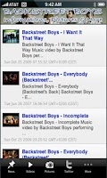 Screenshot of Backstreet Boy+