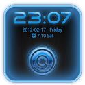 Go Locker Theme Blue Tech icon