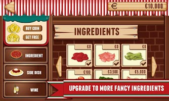 Screenshot of Pizza - Fun Food Cooking Game