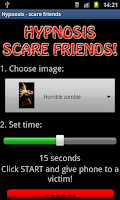 Screenshot of Hypnosis - scare friends
