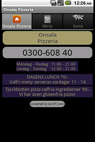 Onsala Pizzeria
