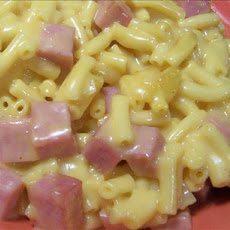 Blue Plate Macaroni and Cheese with Ham