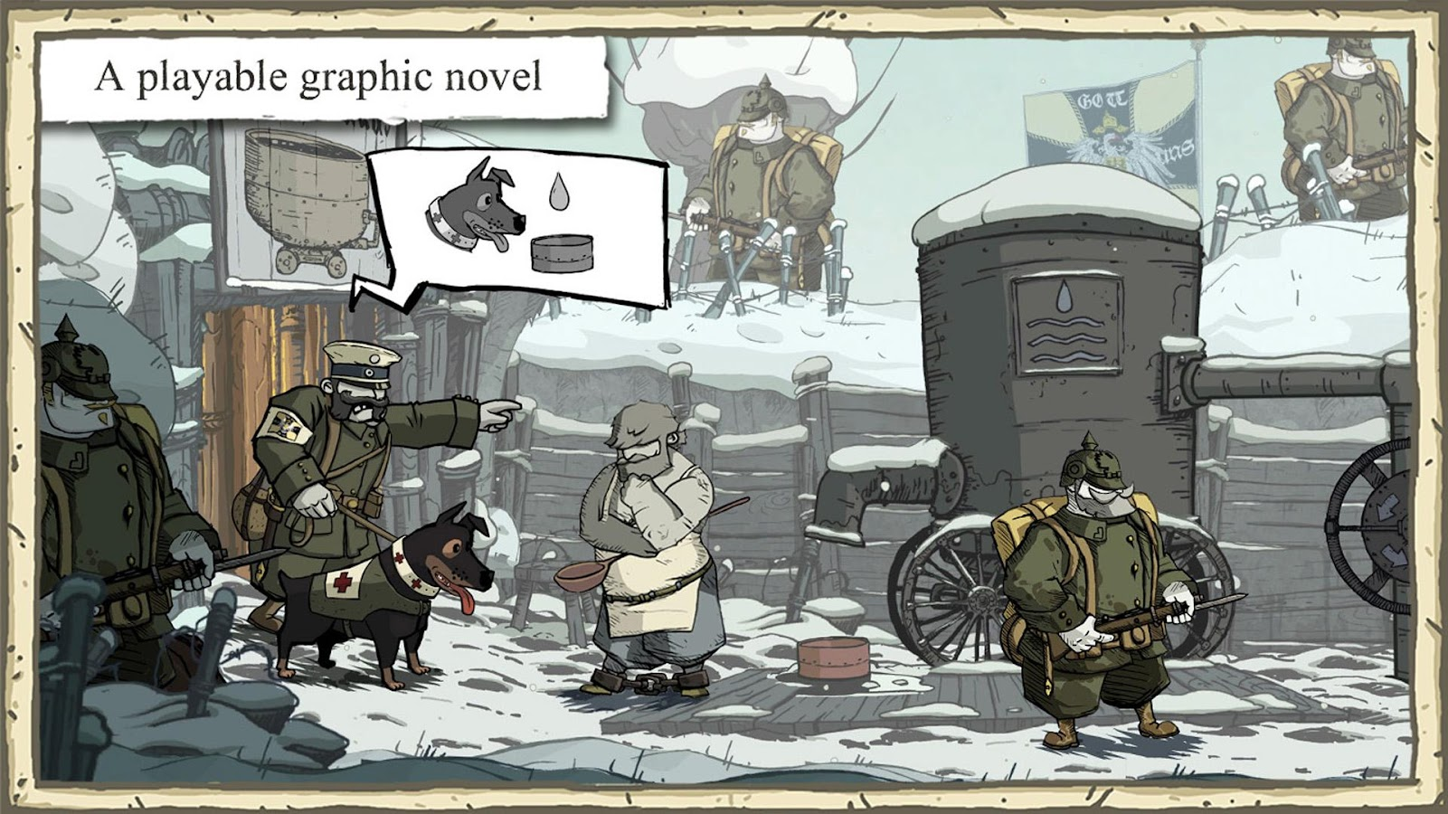 Valiant Hearts : The Great War Screenshot 1