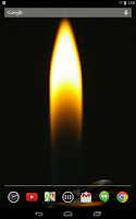 Screenshot of Lighters Live Wallpaper