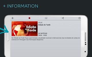 Screenshot of MEO Go