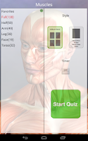 Screenshot of Anatomy Quiz Pro