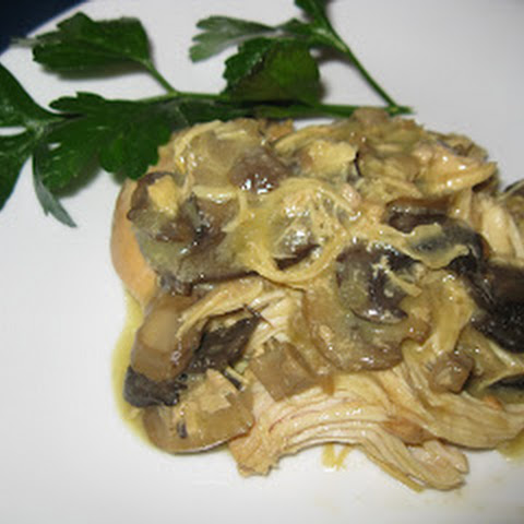 Crockpot Chicken with Mushrooms