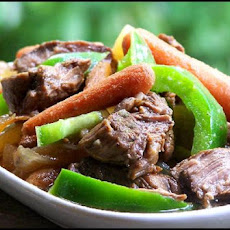 Sweet and Sour Hawaiian Beef Crock Pot