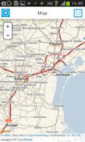 Screenshot of Italy Offline Road Map
