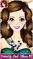 Screenshot of Super Model Dressup