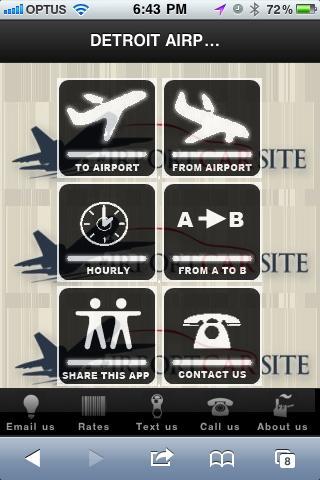 Detroit Airport Car Site
