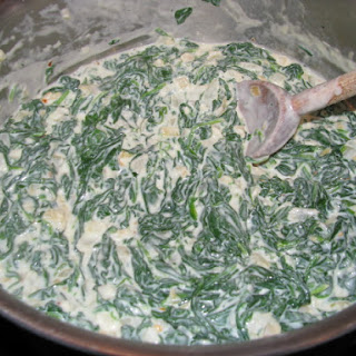 Creamy Garlic Spinach