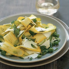 Squash, Mint and Ricotta Salata Salad