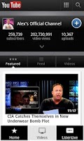 Screenshot of InfoWars Alex Jones Unofficial