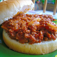 My Family's Favorite Sloppy Joes, or Pizza Joes