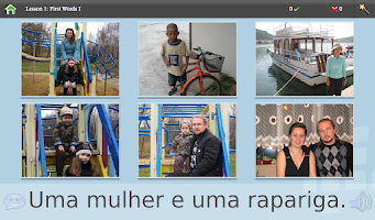 Screenshot of L-Lingo Learn Portuguese