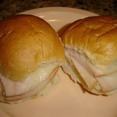 Mini Hot Ham & Swiss Sandwiches