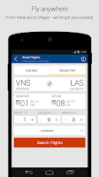 Screenshot of MakeMyTrip, Flights Hotels Bus