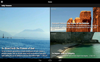 Screenshot of Daily Treasure Devotional