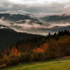 Fall in Beskydy Mountain by Rudolf Suchanek - Landscapes Mountains & Hills