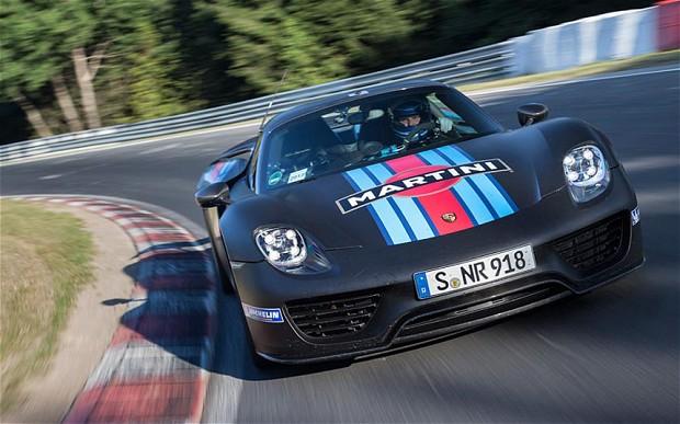 Porsche 918 Spyder Hybrid - Nurburgring