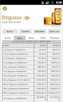 Screenshot of Gold-Ticker