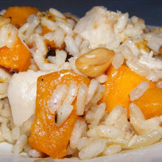 Smoked Chicken And Pumpkin Risotto