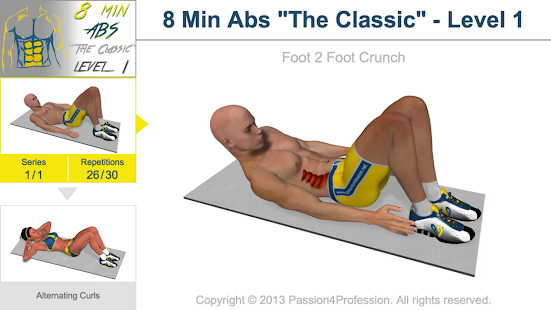 8 Minutes Abs Workout APK for Nokia