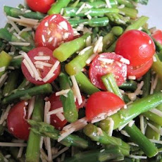 Ww Balsamic Asparagus and Cherry Tomato Salad