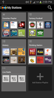 Screenshot of Stitcher Radio for Podcasts