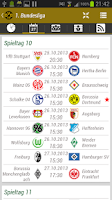 Screenshot of Borussia Dortmund BVB App