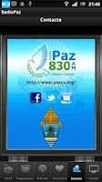 Screenshot of RADIO PAZ 830 AM