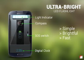 Screenshot of Super-Bright LED Flashlight