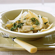 Ravioli with Herbed Ricotta Filling