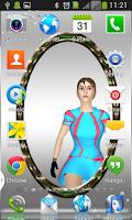 Screenshot of Mirror Transparent Launcher