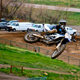 later by Zachary Zygowicz - Sports & Fitness Motorsports ( motocross, dirtbike, motorcycle, whip, dirt )